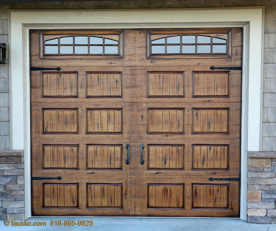 Gallery Wood Garage Doors Prices Wood Faux Finish Metal